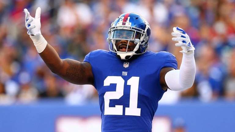 Giants Landon Collins on Eli Apple