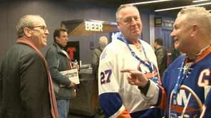On Tuesday, Dec. 19, 2017, Isles fans attending