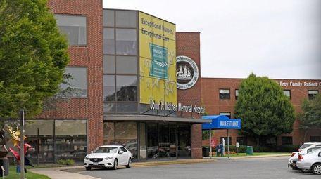 John T. Mather Hospital in Port Jefferson, shown