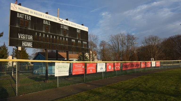 New turf will be installed at Glacken Park