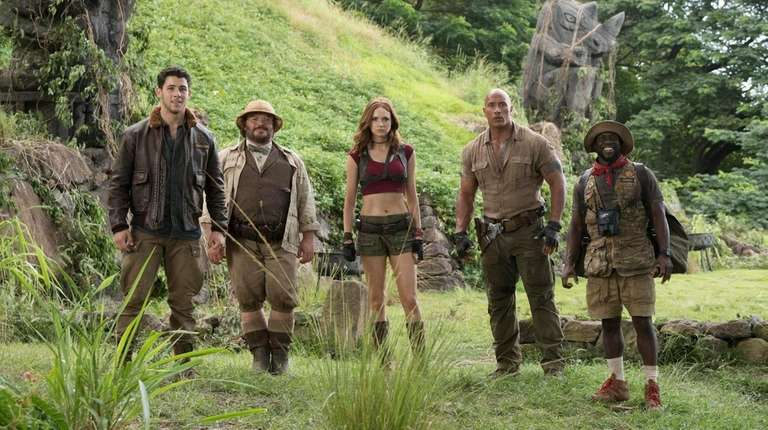 'Jumanji' Rolls For Third Box Office Victory