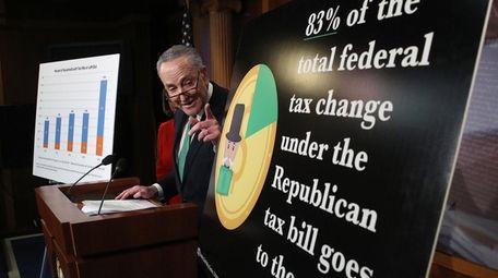 Senate Minority Leader Chuck Schumer outlines why Democrats