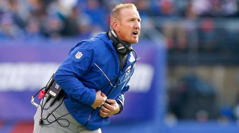 Interim head coach Steve Spagnuolo of the New