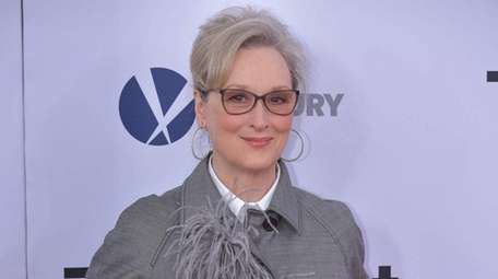 Meryl Streep attends the premiere of her film