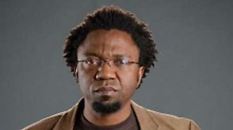 Professor Patrice Nganang is shown in an