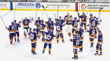 The Islanders returned home to the Nassau Coliseum,