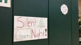 Mercy took part in their second-annual Silent Night