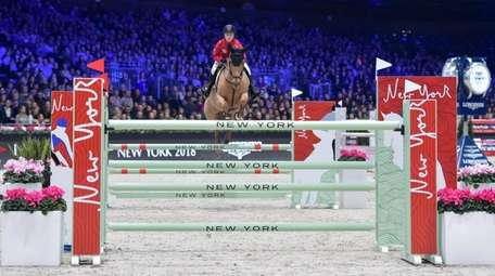 The Longines Masters show jumping event comes to