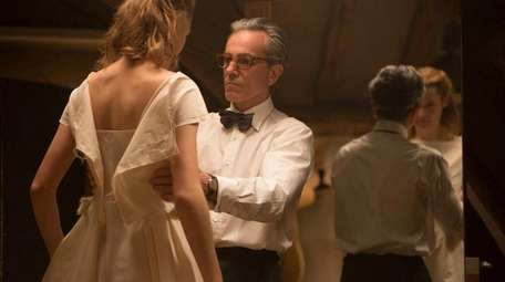 Vicky Krieps and Daniel Day-Lewis in