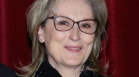Meryl Streep at a screening of her new