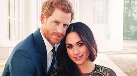 Prince Harry and Meghan Markle in one of