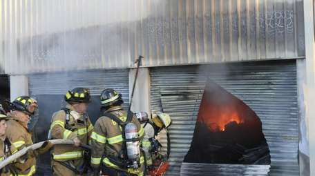 A fire destroyed several storage units at Oakdale