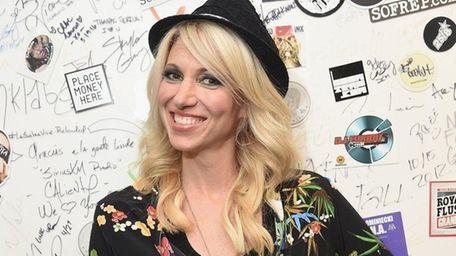 Singer Debbie Gibson at SiriusXM Studios in New