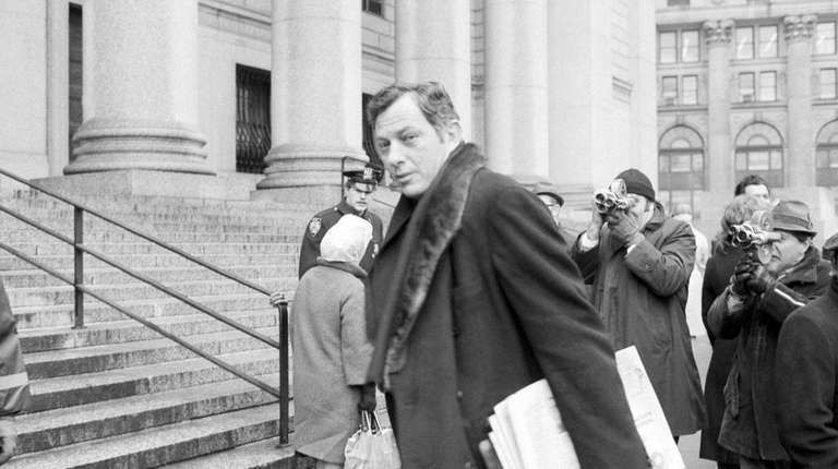 Author Clifford Irving, pictured on March 13, 1972,