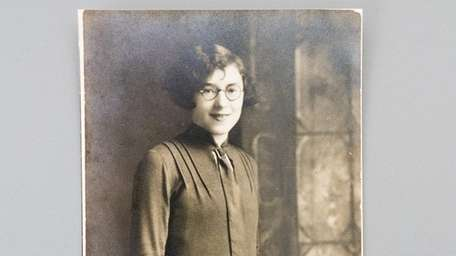 A photo of Florence Tannen's mother, Blanche, before