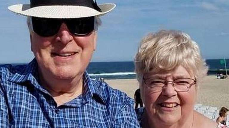 Bob and Peggy Coiro of Sound Beach celebrated