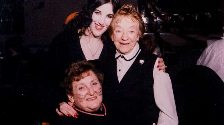 Adele Silverman, seated, and her daughter Susan Quigley