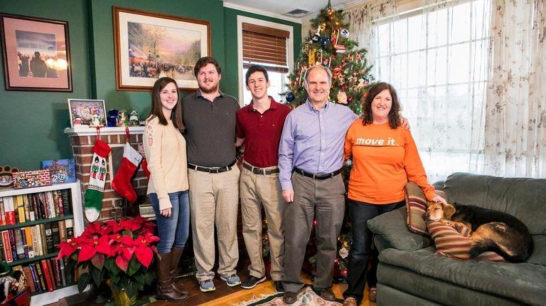 The Quigleys: Emily, 21, Andrew, 23, Matthew, 18,