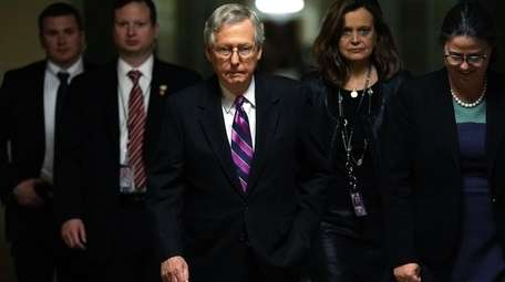 U.S. Senate Majority Leader Sen. Mitch McConnell (R-KY)