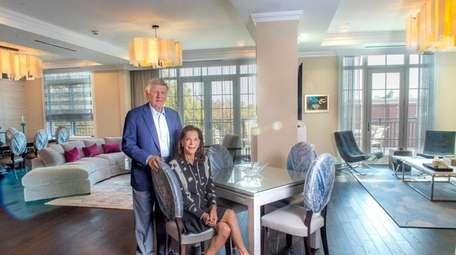 Aileen and Alvin Murstein in the two condo