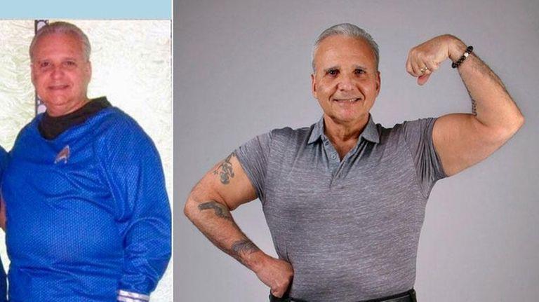 Joe Sciammarella, 63, of Lindenhurst, is pictured in