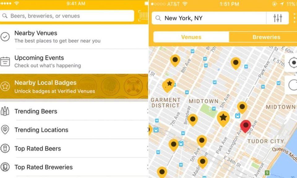 Beer lovers should download Untappd, an app that
