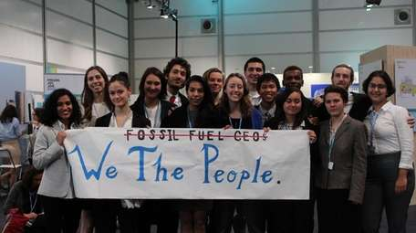 The SustainUS delegation at the UN climate conference