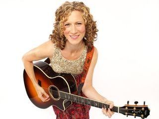 Children's music star Laurie Berkner will perform at