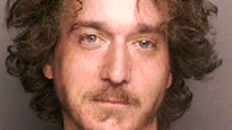 Ryan Osborne, 30, was arrested by Riverhead Town