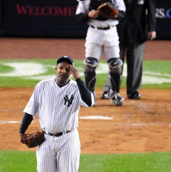 New York Yankees pitcher C.C. Sabathia in the