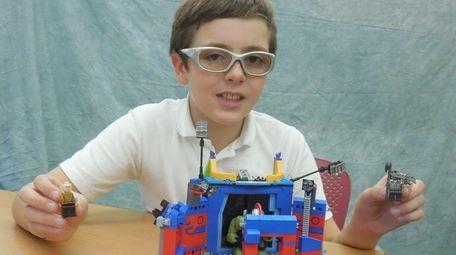 Kidsday reporter Declan Sekavec assembled Lego's Thor vs.