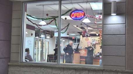 Suffolk police investigate a robbery by a man