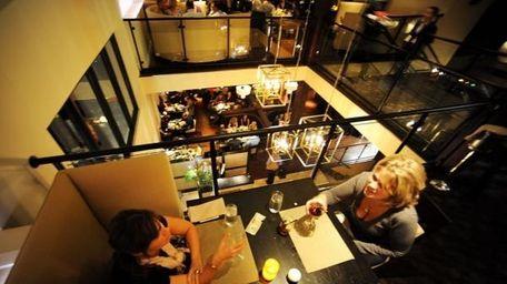 Corrine Mazzareloa and Valerie Amitrano, both of Huntington,