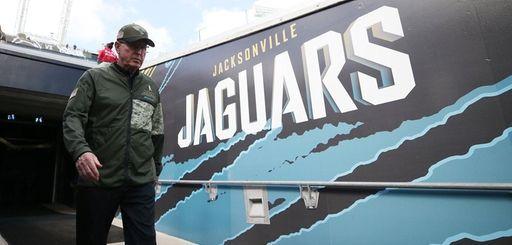 Jaguars executive VP of football operations Tom Coughlin