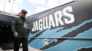 Jaguars executive VP of football operations Tom Coughlin