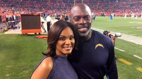 WNBC news anchor Stacey Bell with husband Anthony