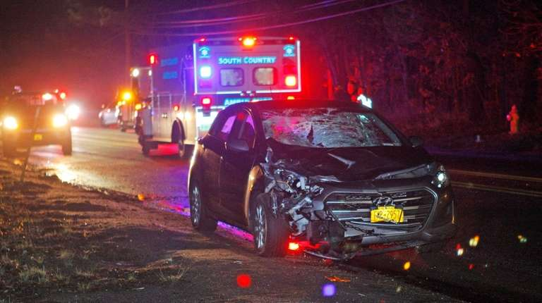 Cops: Brentwood woman dies, daughter critical after car hits