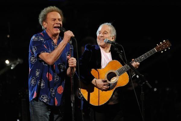 NEW YORK - OCTOBER 29: Art Garfunkel and