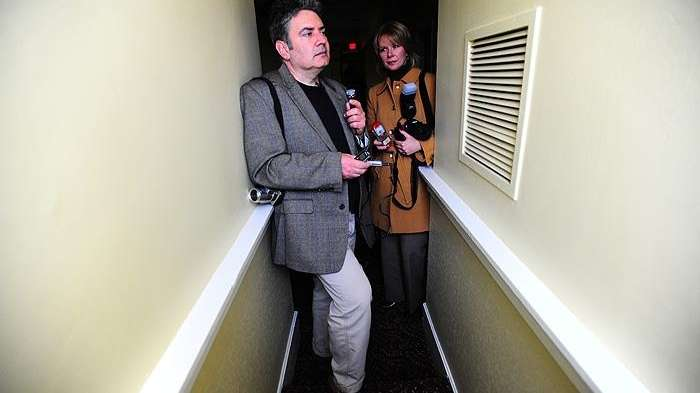 Paranormal investigator Joe Giaquinto and author Kerriann Flanagan