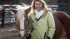 Lisa Gatti, CEO of Pal-O-Mine Equestrian with Gigi