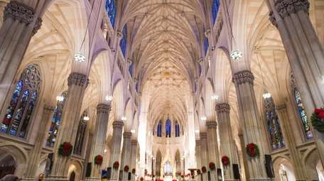 St. Patrick's Cathedral in Manhattan was packed for