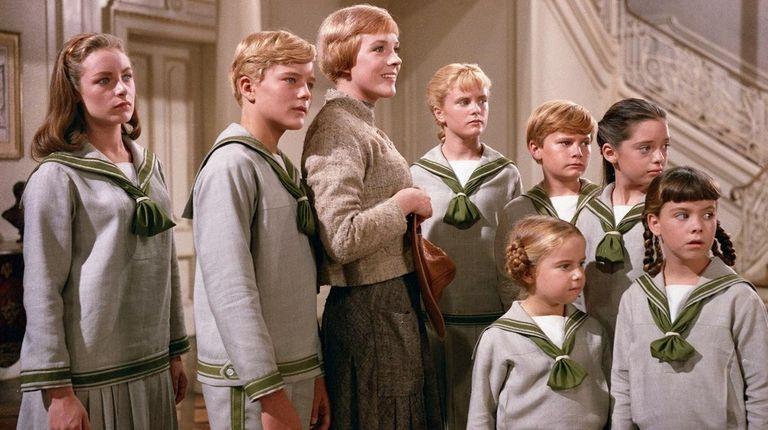 From left, Chairmian Carr as Liesl, Nicholas Hammond