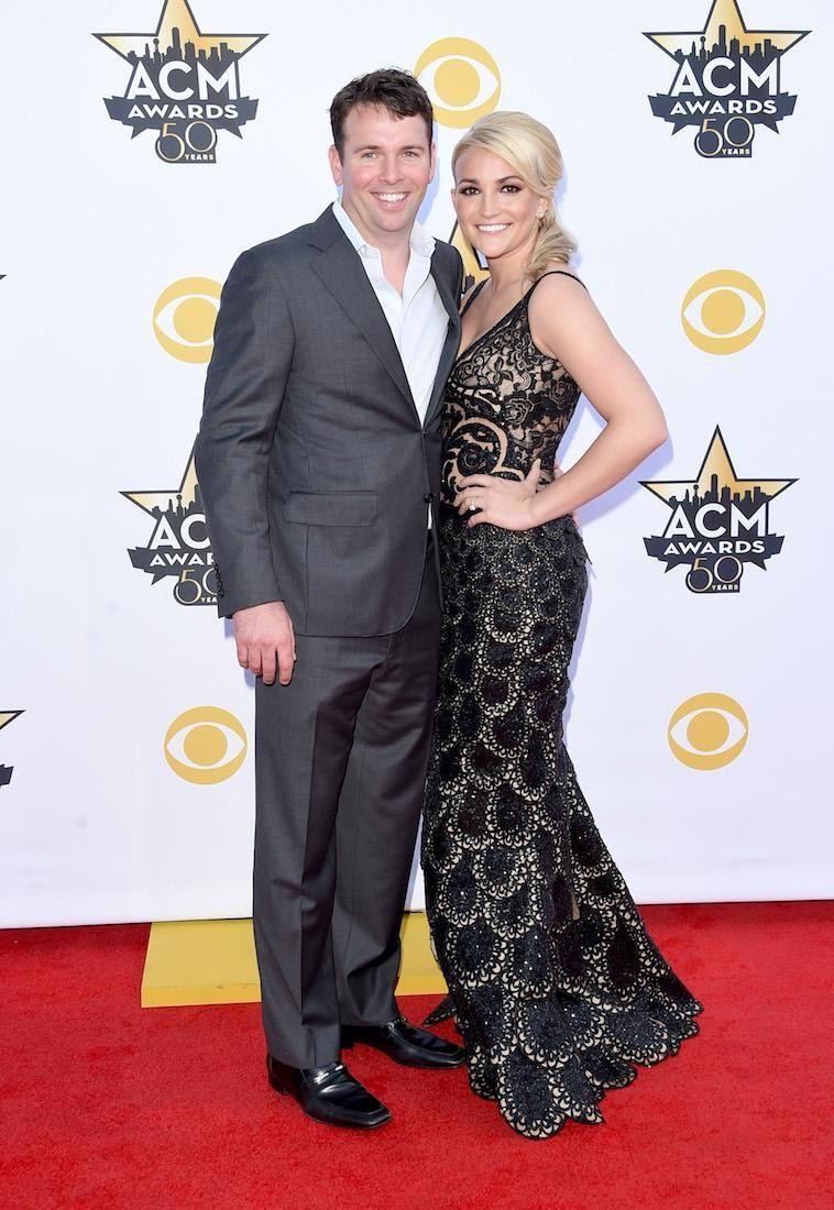 Jamie Lynn Spears and husband, Jamie Watson, welcomed