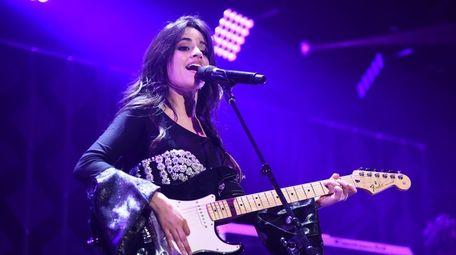 Camila Cabello performs at Z100's Jingle Ball 2017