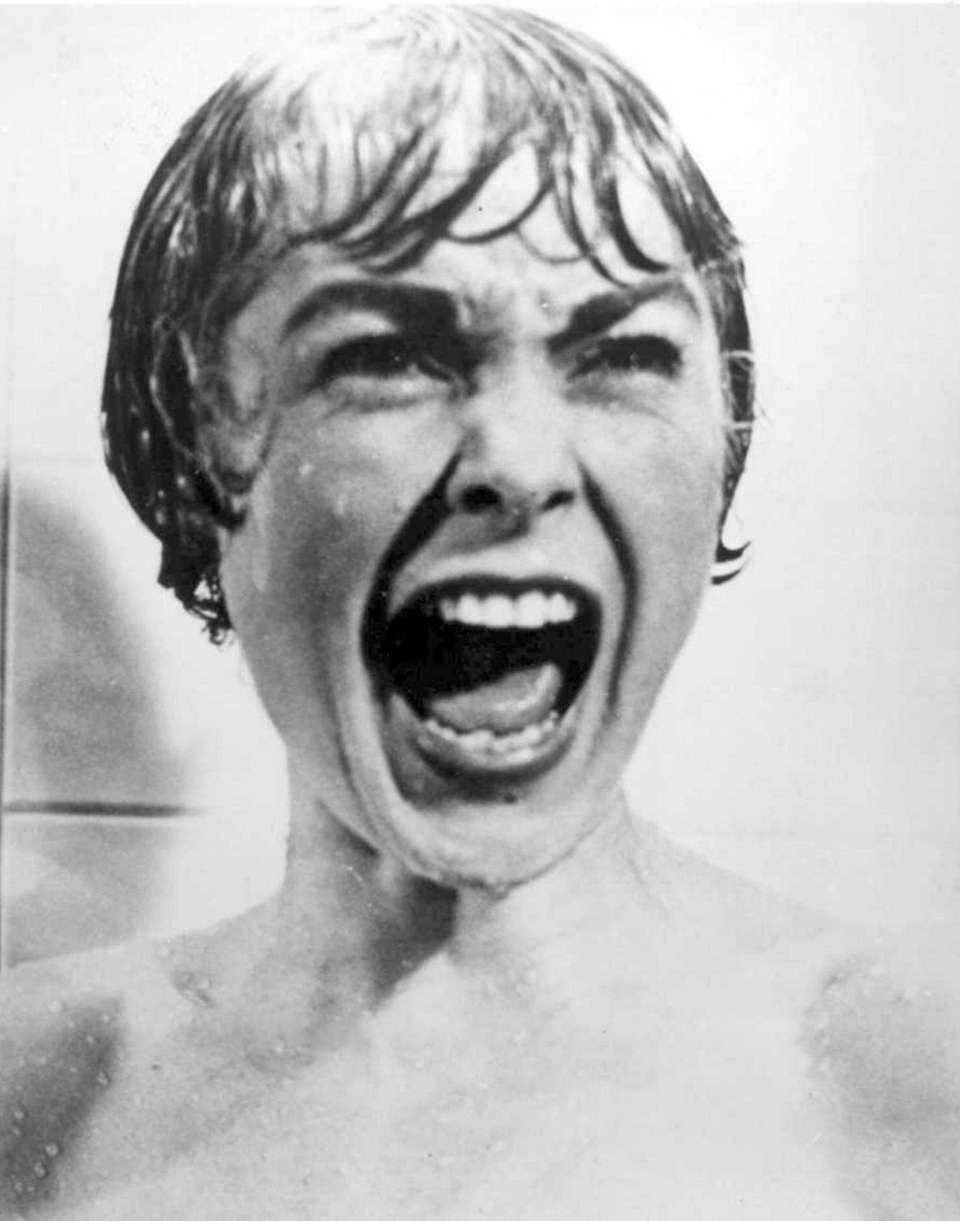 Actress Janet Leigh as Marion Crane is shown
