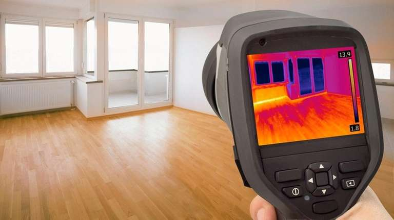 Companies that do energy audits may use infrared