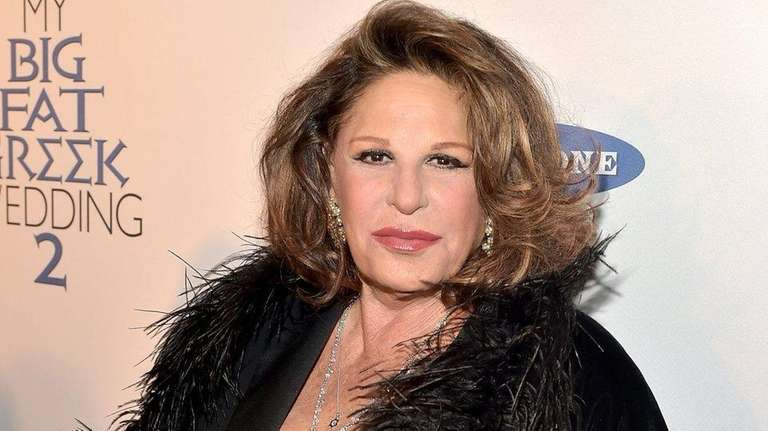 Lainie Kazan attends the premiere of