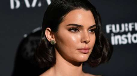 Kendall Jenner at a Harper's Bazaar event in