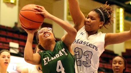 Elmont's Jada Fernandez gets past Masters' Noemia Massingue