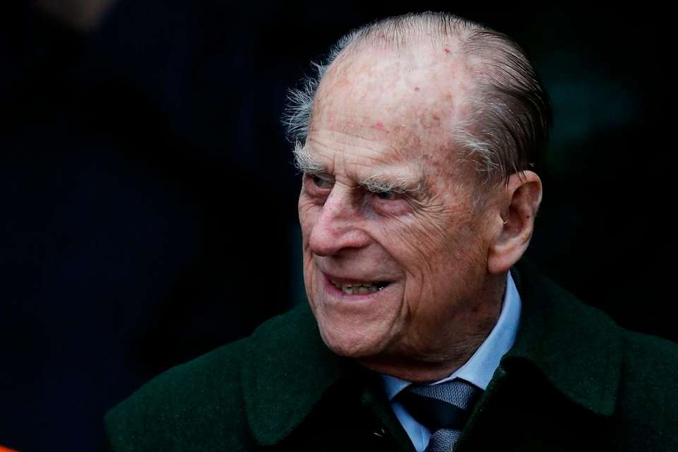 Prince Philip, Duke of Edinburgh, leaves Christmas Day